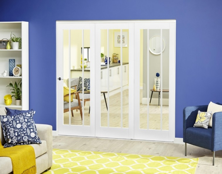 Bifold doors - all closed