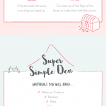 How to Make a Den [Infographic]
