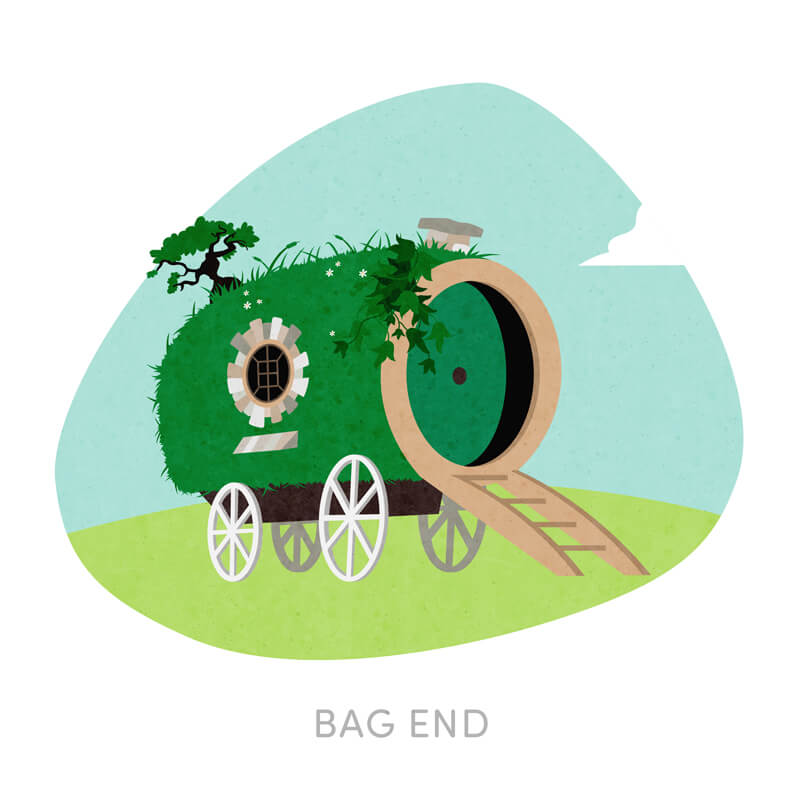Bag End - Frodo's House Reimagined