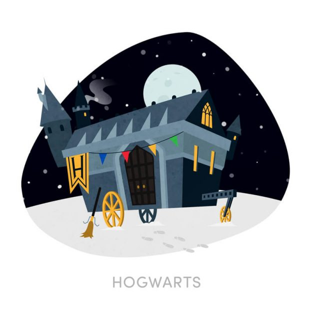 Hogwarts Reimagined - Harry Potter