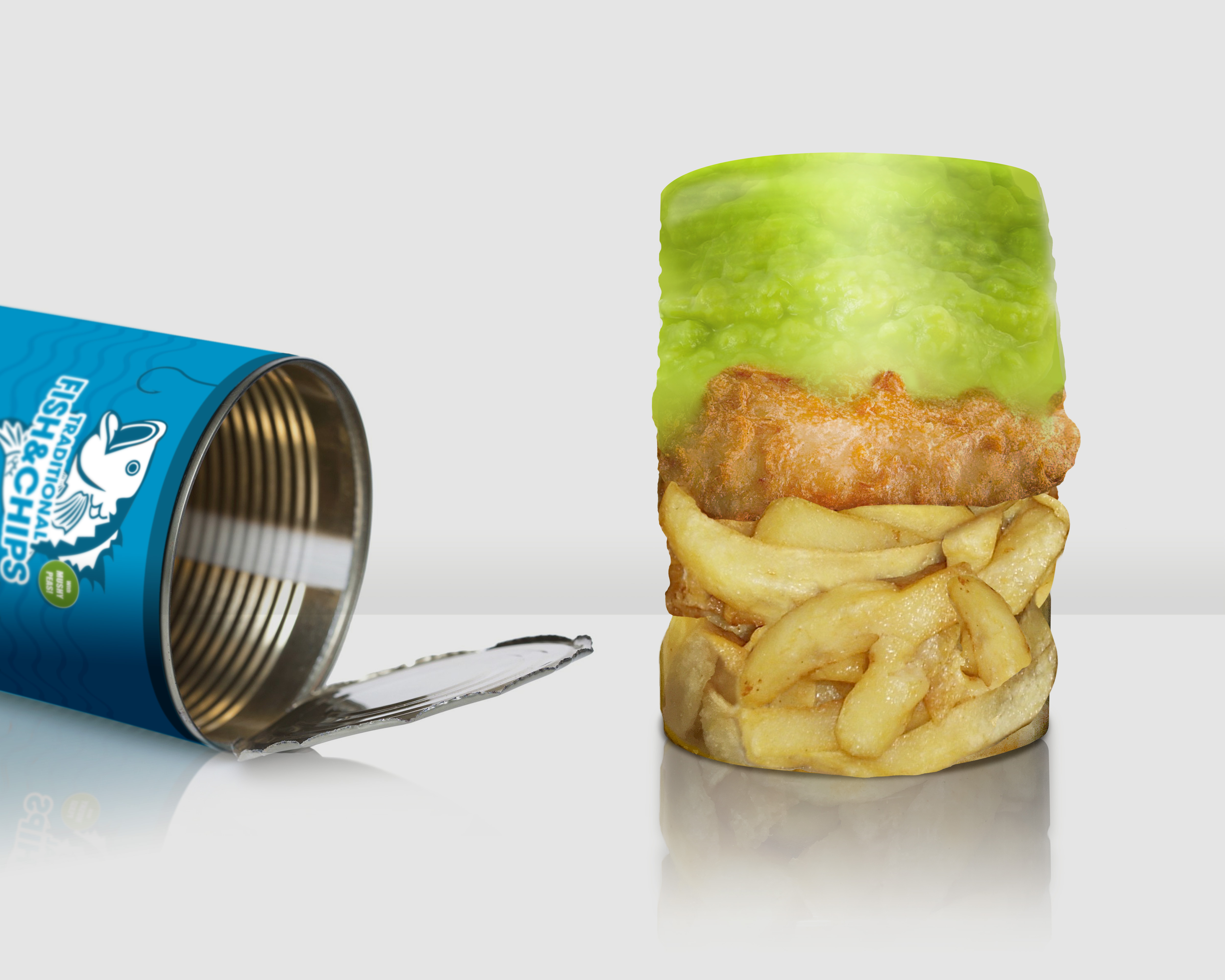 Tinned Fish and Chips