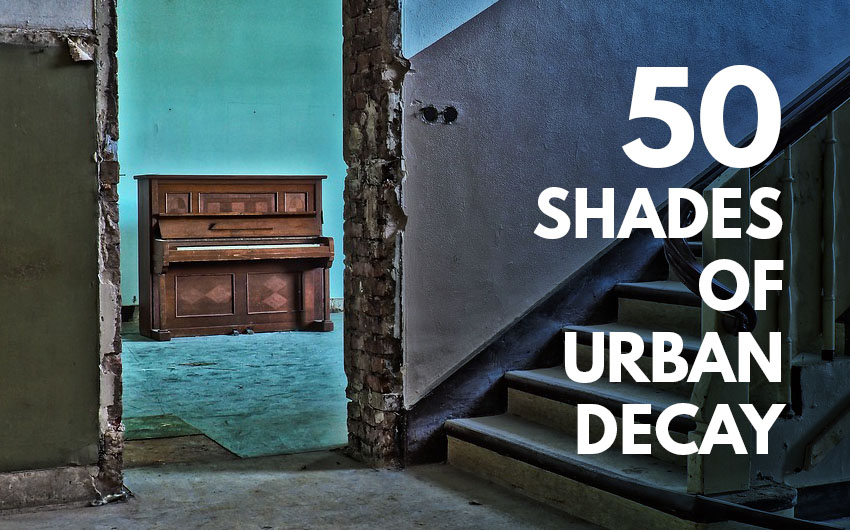 50 Shades of Urban Decay: Colour Palettes Inspired by Abandoned Places