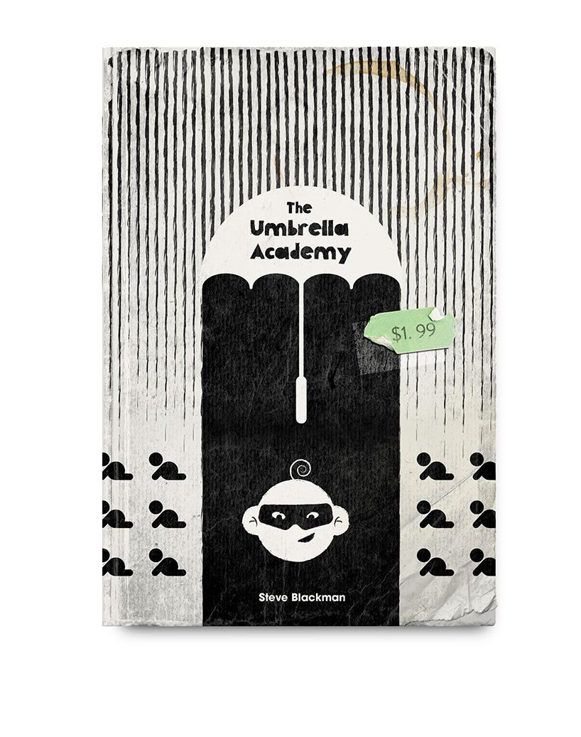 Umbrella Academy Vintage Book - Climadoor