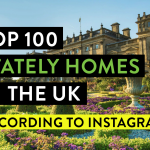 Top 100 Stately Homes in the UK According to Instagram