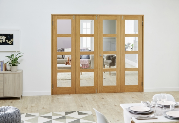 Internal Folding French Doors - Stunning Room Divider Doors