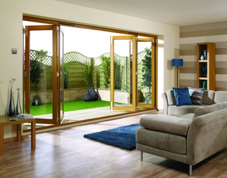 open external bifold doors