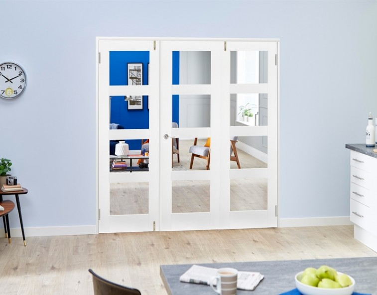 white-french-folding-doors