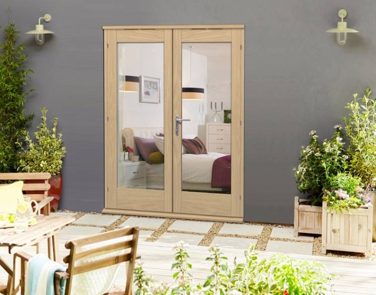 double exterior french doors
